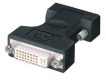 Cablu dvi vga (cablu vga-vga + adaptor vga-dvi)