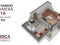 Apartament 1 camera D Valea Adanca CUG, str. Costea Voda