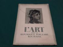 L'art dans republique populaire roumaine nr.6*1953
