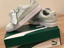 Adidasi puma basket , noi , originali , marimi 36 și 37