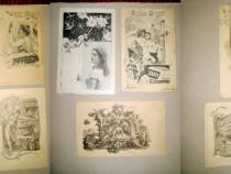 A912-Carti postale vechi anii 1900 Art Noveau si deosebite.