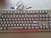Tastatura gaming iluminata steelseries apex 100 negru