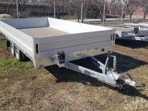 Remorca Auto Platforma 400x200 2700 kg roti pe 13 inci Martz