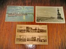 B06-Constanta 3 carti postale vechi 2 regaliste+1RPR.