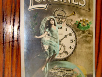 B10-Longines 7 Grands Prix-reclama veche carte postala veche