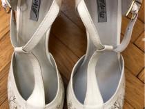 Ieftin pantofi - sanda noi de firmă piele 100 % Matheo