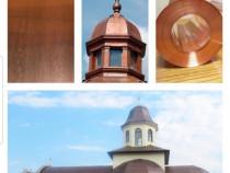 Tabla pentru acoperisuri cupru alama aluminiu inox zinc