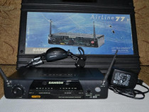 Microfon Samson system wireless 77 instrument AH1