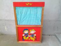 Mini Teatru de papusi pentru copii 108*66*32 cm (varianta 1)