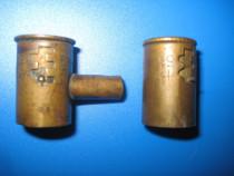 1289- Cartusier vechi din alama marca OKA piesa de colectie.