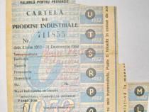 1561A-I-Fabrica Tesaturi 1952 Cupon Cartela produse ind...