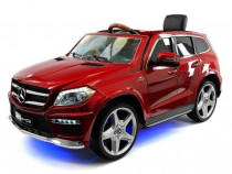 Masinuta electrica mercedes gl63 echipata deluxe, cu mp4 red