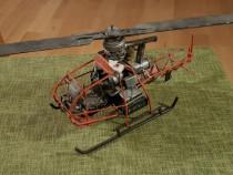 Macheta elicopter model rar metal F-WGVD 1953 French Vintage