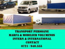 Transport Persoane | Marfa Generala | Mobilier Voluminos