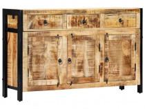 Servantă, 120 x 35 x 76 cm, lemn masiv de 247445