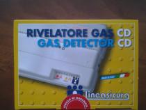 """Detector de gaz cu electrovana 1/2"""" Tecnogas CD 98- Italia"""