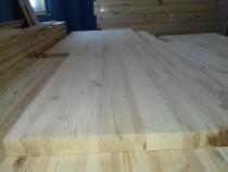 Blat lemn masiv pin 1000 x 620 x 30 mm grosime