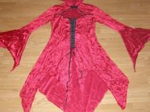 Costum carnaval serbare vampirita scufita rosie adulti M-L