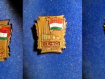 2368-I-Insigna Kisz DCM 1919-1957-Partidul Comunist Maghiar.