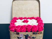 Aranjamente trandafiri sapun la comanda!