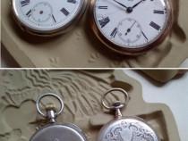 2 vechi ceasuri de buzunar germane, inc. sec.XX, functionale
