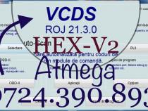 Interfata HEX V2 VCDS 21.300 Vag Com Tester Audi Vw Skoda