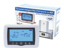 Termostat PNI CT35 Wireless controlat prin Internet NOU