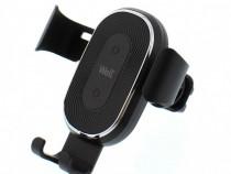 Suport auto telefon cu incarcare wireless 10w ventilatie nou