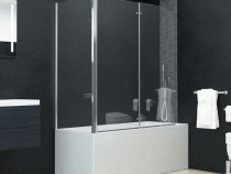 Cabină de duș dublu-pliabilă, 144676
