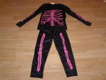 Costum carnaval serbare schelet pentru copii de 7-8 ani