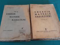 Energie materie radiațiuni/ vol. 3, și 4/ chr. musceleanu/19