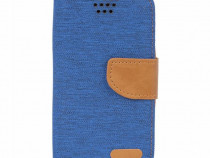 Husa Telefon Flip book Universala Canvas 5.0 inch 14.5x8cm