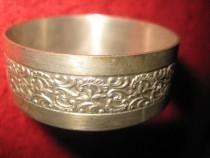 476a- Inel Servetele metal argintat.
