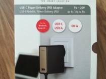 Incarcator universal laptop HAMA 54184, USB Type-C, 60W