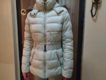 Geaca femei camaieu - bej haina de iarna-toamna femeie dama