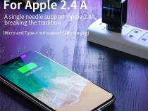 Cablu Premium Lightning, conector magnetic Apple iPhone