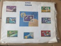 Serii si timbre cu tematica aerospatiala