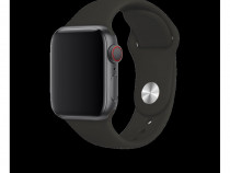 Curea bratara silicon apple iwatch 42-44 black produs nou