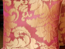 Perne decorative 45x45 cm, din matase naturala