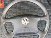 Volan cu airbag vw golf passat