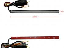 Banda lumina de zi DRL 30cm cu functie de semnalizare dinami