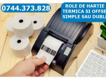 Rola hartie imprimante AURES ODP160/200,TRP100 ; Epson TM-