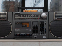 Radio PHILIPS D8234 Compact Compo casetofon boxe detasabile