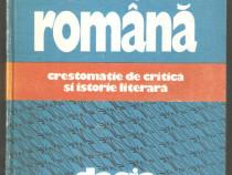 Literatura Romana -Crestomatie de critica si istorie literar