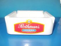 5026-Scrumiera Vintage ROTHMANS rosie portelan France.