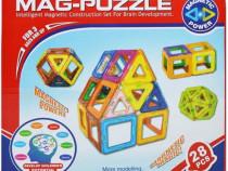 Joc constructie magnetic mag puzzle
