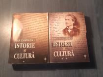 Istorie si cultura de Dan Zamfirescu 2 volume