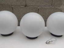 Felinar sfera abajur lampa exterior glob lampadar gradina