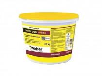 Tencuiala decorativa silicat webber pret pentru 43 culori