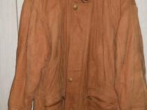 Haina din piele de caprioara,Leather Wear by M.FL
